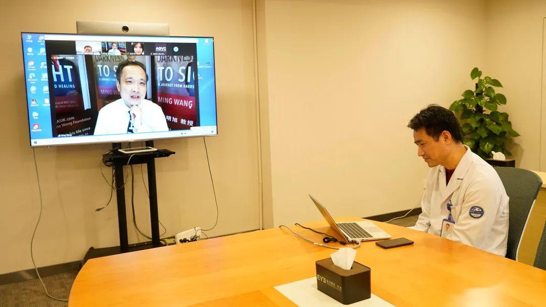 爱尔眼科患者享全球异地复查,美国爱尔近视患者在杭州复诊享便捷