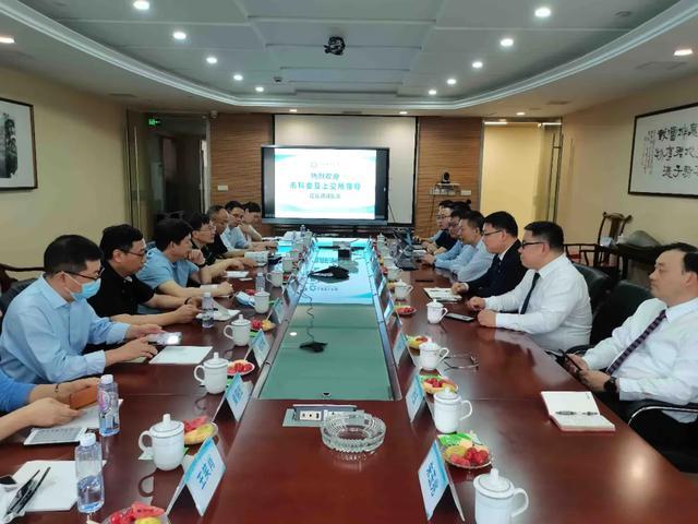 上海市科委及上交所领导莅临全景调研指导