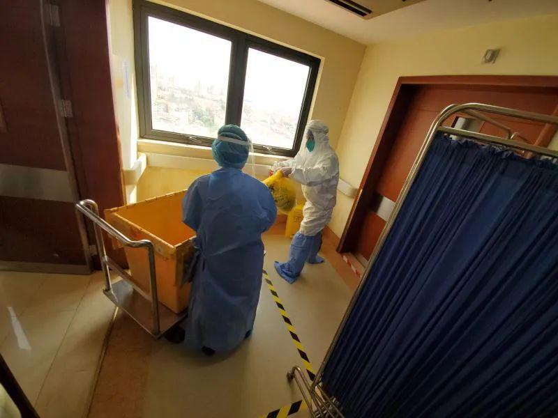 同济大学附属同济医院开展秋冬季新冠肺炎疫情防控演练