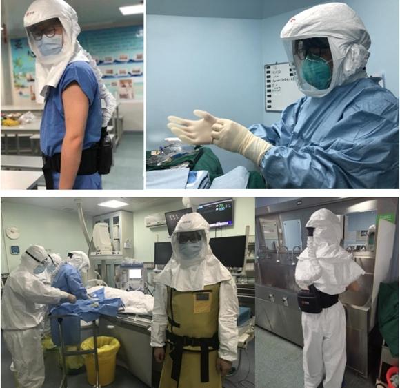 疫情在前 坚守不退——「硬核」防护装备 助战亚心救治病患