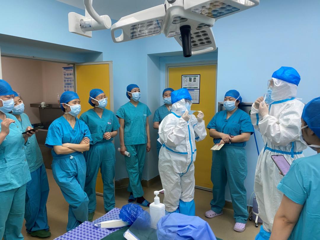 玉田县中医院手术室开展新冠肺炎急诊手术应急演练