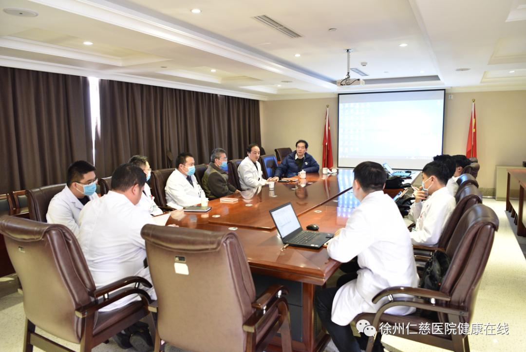 中国肿瘤整形外科学奠基者和创始人周晓教授莅临徐州仁慈医院进行学术指导