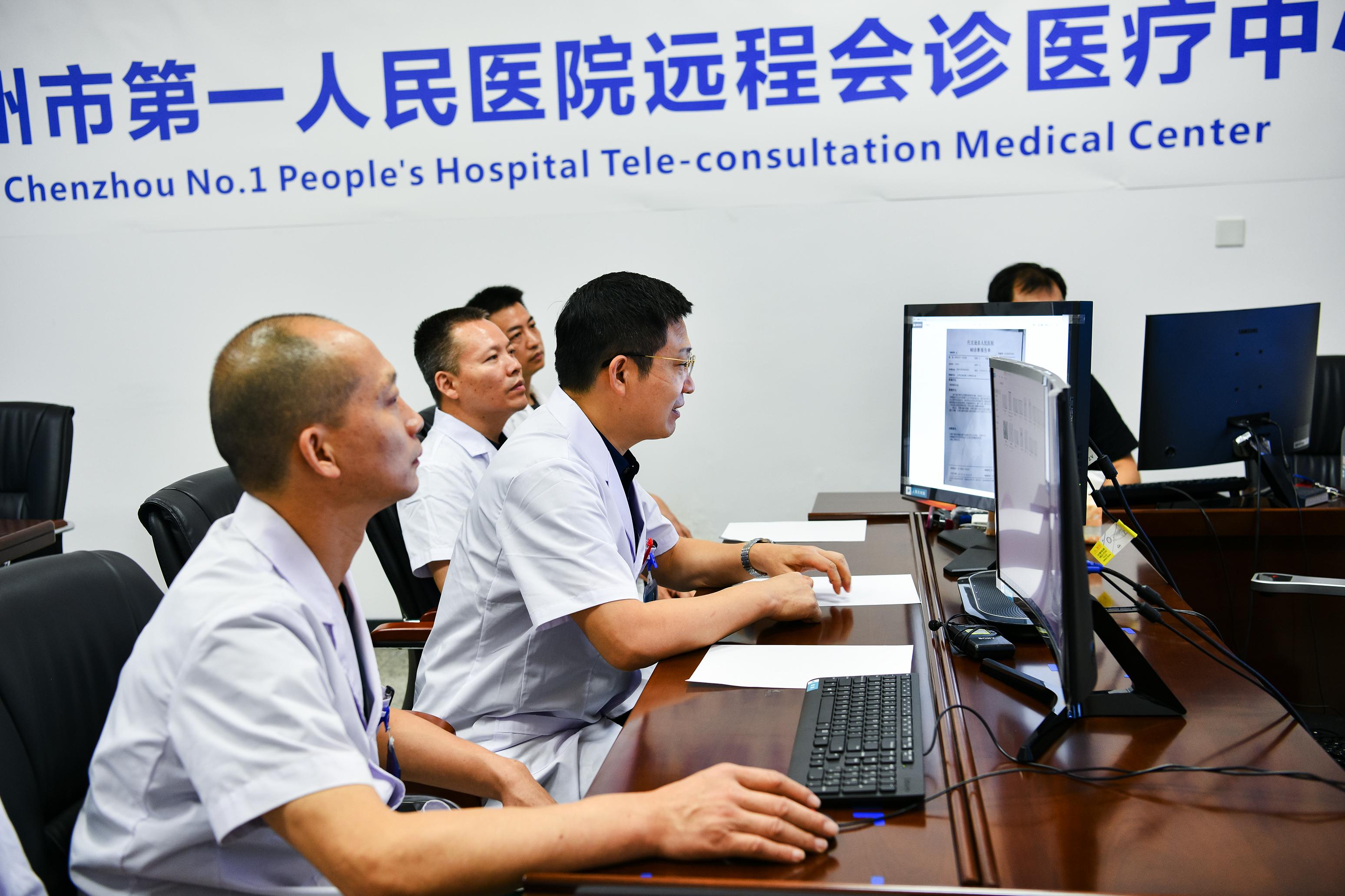 治病救人千里之外,「郴托」借「空中桥梁」实现医疗资源共享