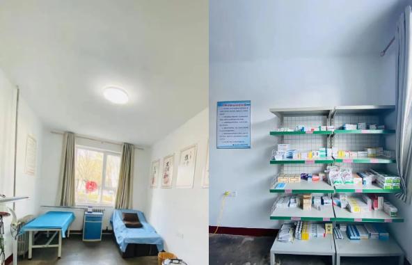 北大医疗潞安医院常村分院开在常村矿区的「方便诊室」正式挂牌运行啦
