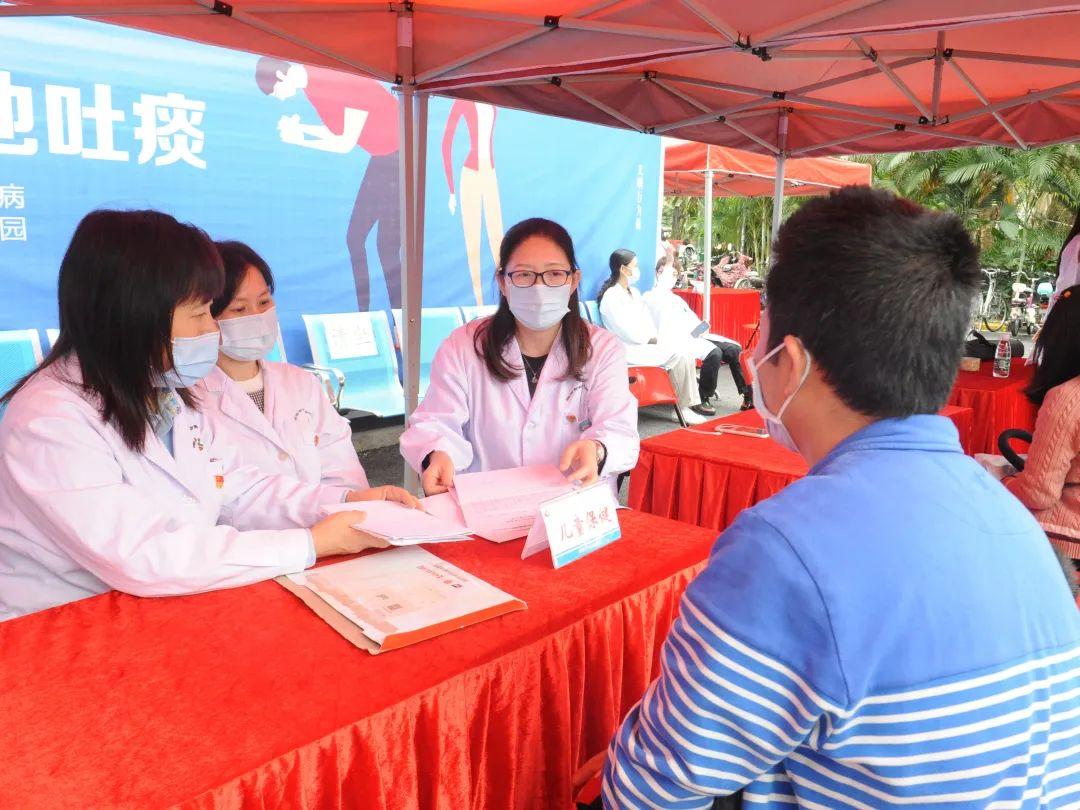 深圳市妇幼保健院保健二支部开展「国际爱耳日」义诊活动