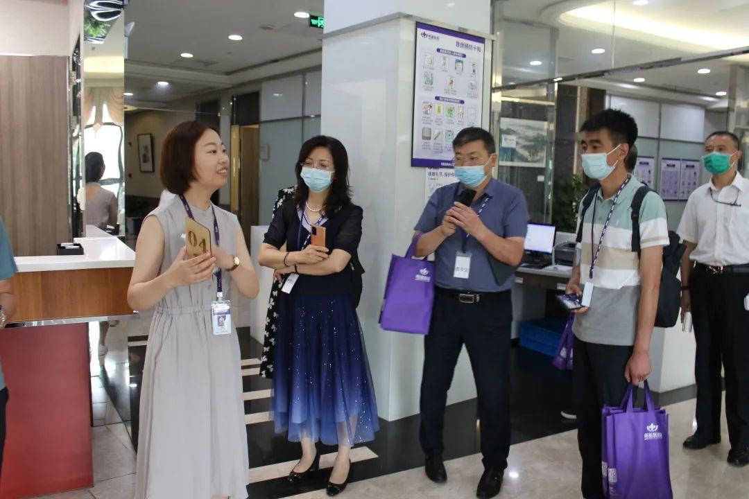 中国医学装备协会民营医院装备管理分会莅临苏州明基医院交流观摩
