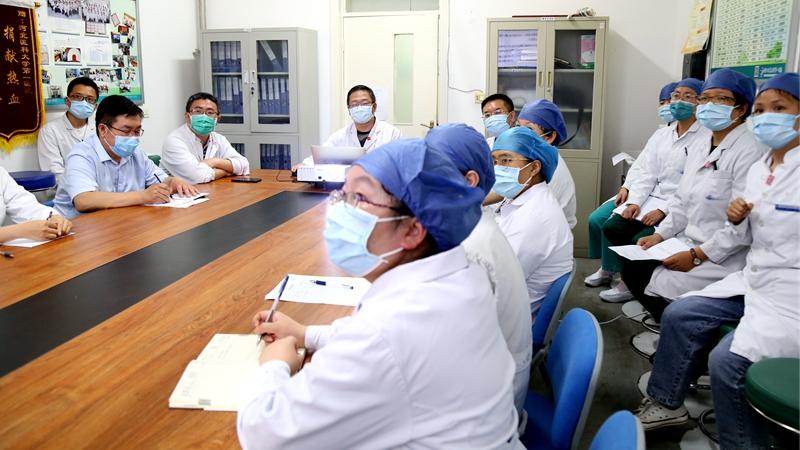讲述战「疫」故事 弘扬抗疫精神 河北医大一院开展抗疫先进事迹宣讲