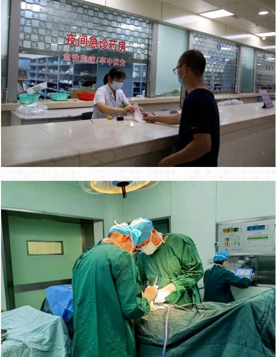 无惧风雨,守护健康——市人民医院抗台工作剪影