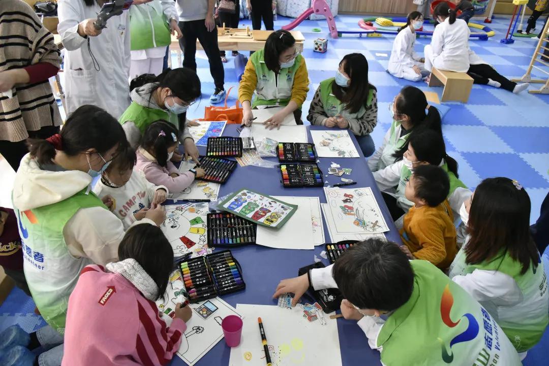 上海市第二康复医院「天使之翼」俱乐部 12·5 志愿者活动