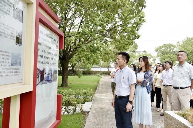 上海市第二康复医院参观「四史」学习教育红色线路现场访学活动