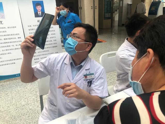 公益行︱河南省直三院脊柱、关节专家走进息县