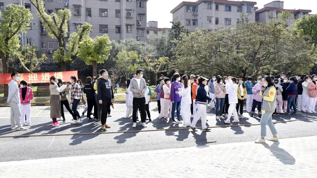 上海市第二康复医院工会举办第二届拔河比赛