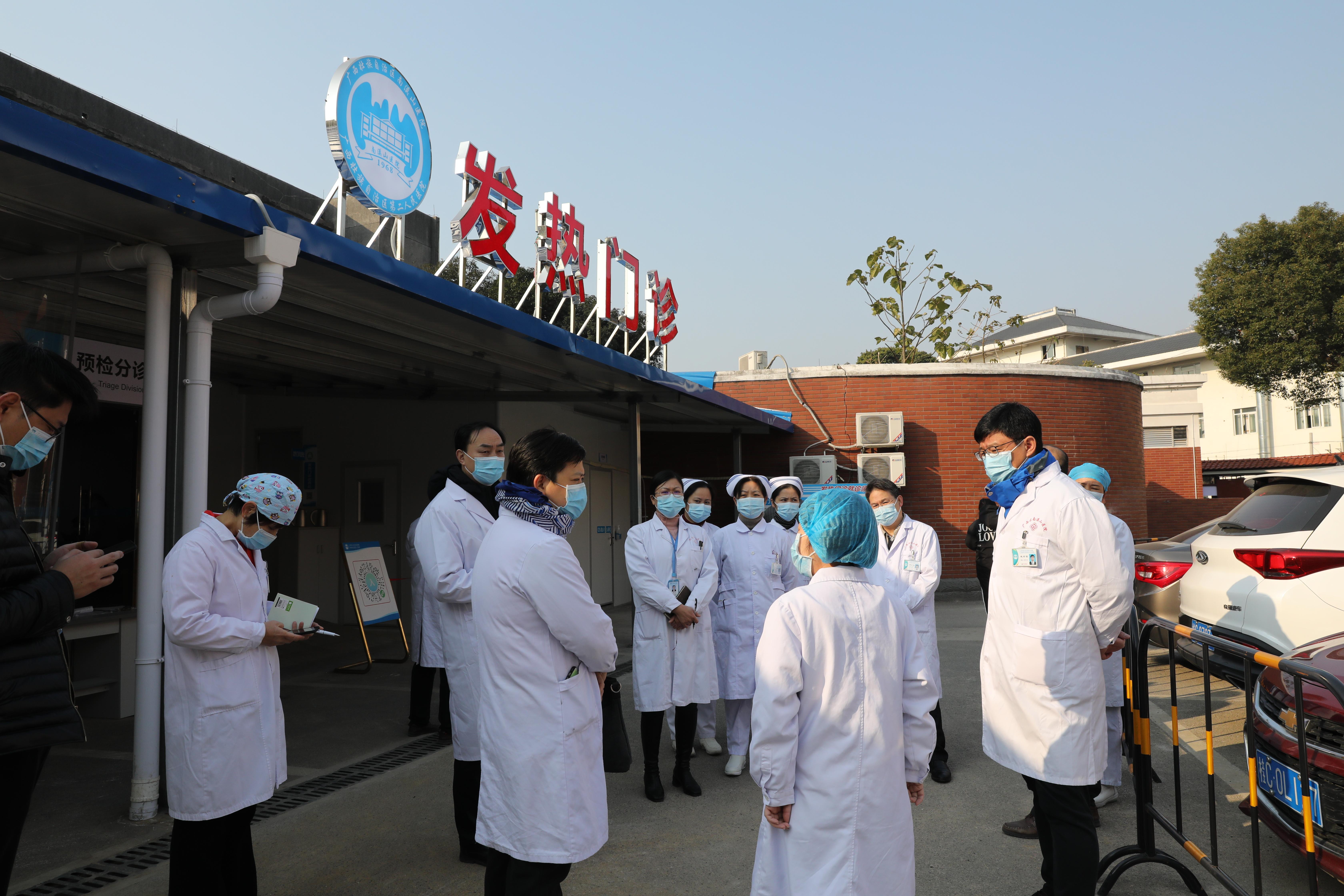 广西壮族自治区南溪山医院:加强疫情巡查 ,把好防控关口