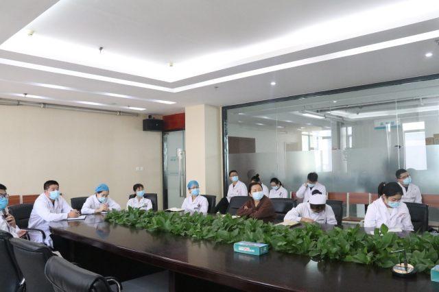 河南信合医院召开科室新闻通讯员培训会