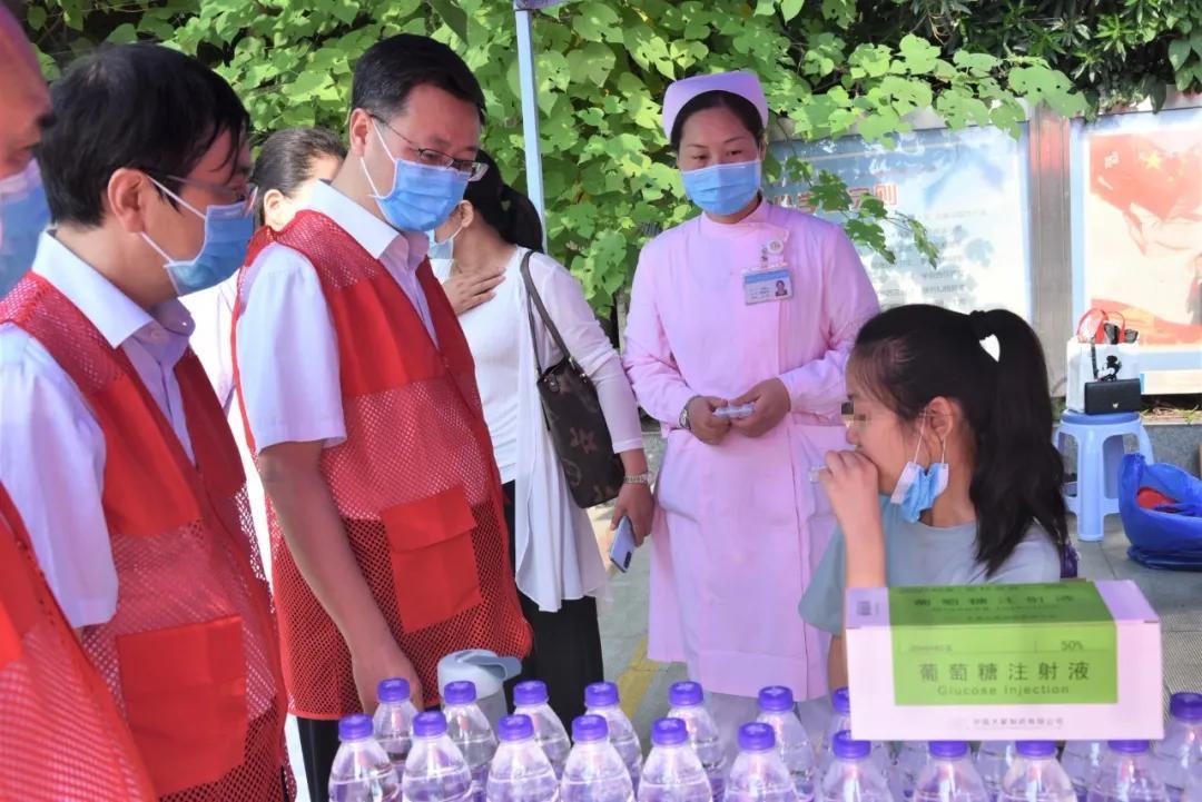 助力高考 健康护航——高考医疗志愿服务活动