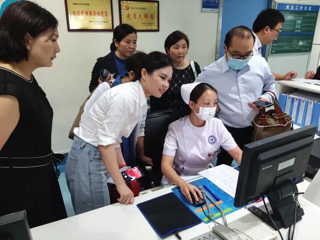 川北医学院附属医院前往绵阳市中心医院参观交流