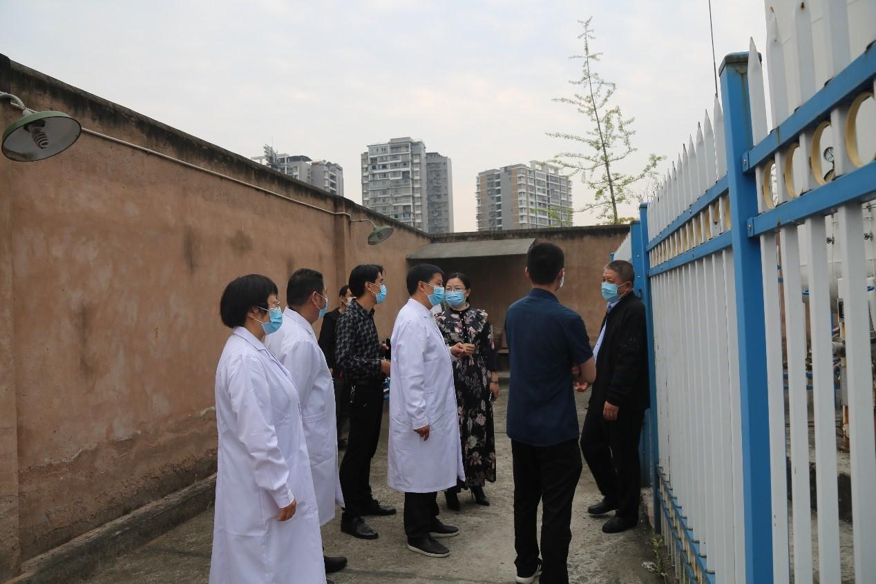 荣县人民医院开展党委专题查房