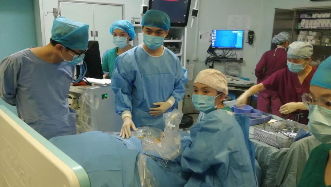 广西医科大学第一附属医院完成多例深部血管瘤微波消融手术
