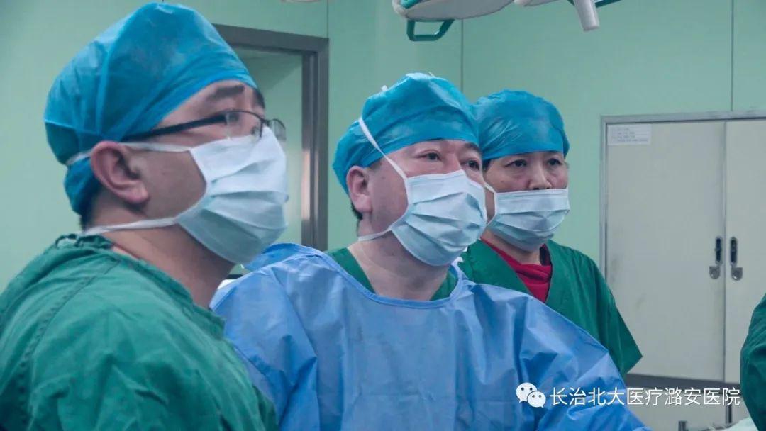 北大医疗潞安医院精准完成腹腔镜、结肠镜双镜联合手术