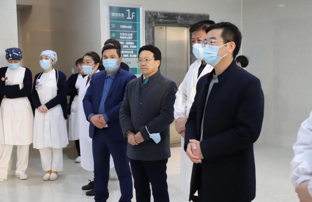 上海德济医院支援浦东国际机场海关防疫,守卫国门保平安