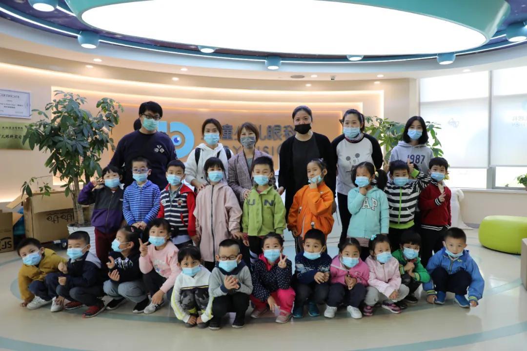 上海贝瞳佳视眼科门诊部为紫一幼儿园的小朋友进行视力筛查啦