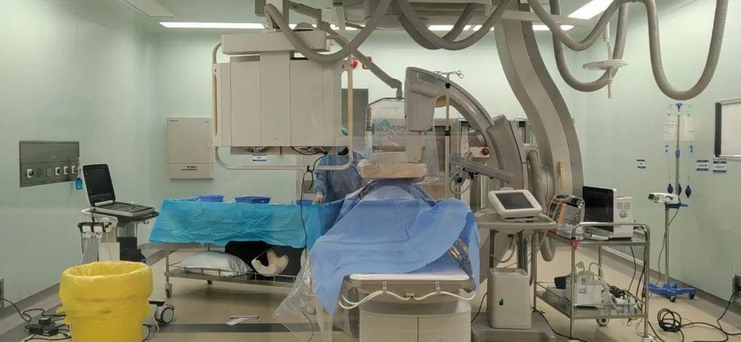 肝脏里的「都江堰」工程,合肥京东方医院成功开展 TIPS 介入手术