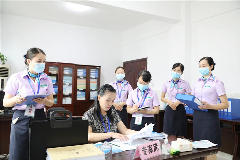 热烈祝贺河池市宜州区人民医院顺利通过二级甲等综合性医院现场评审
