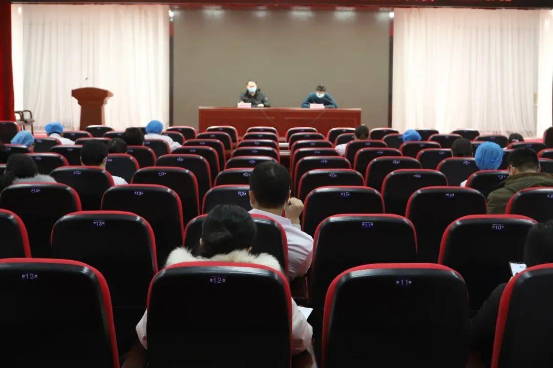 玉田县中医医院召开核酸检测动员暨标本采集培训会