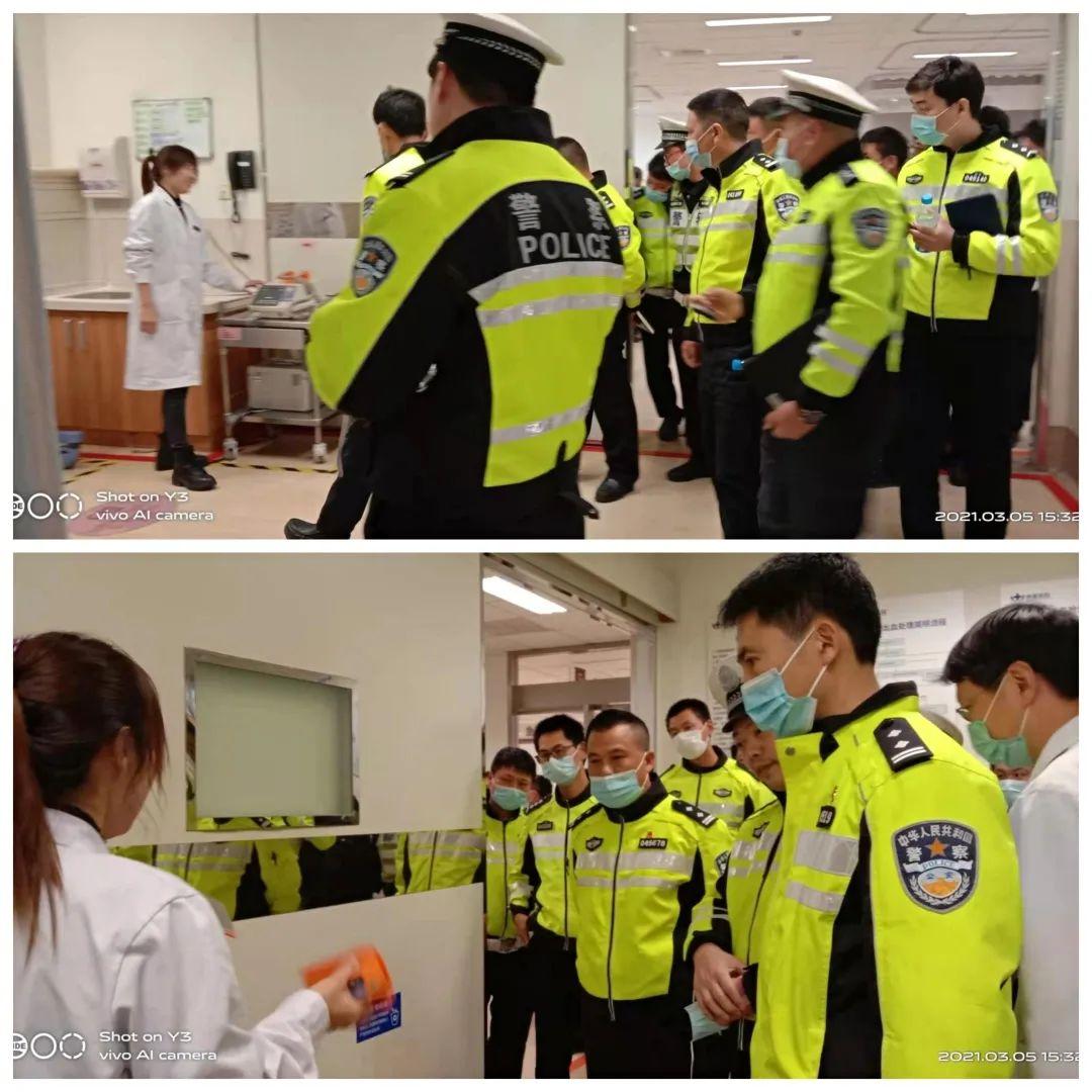 苏州明基医院携手交警大队,架起绿色桥梁、守护生命防线