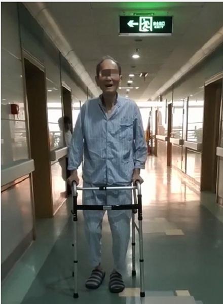 91 岁老人髋关节置换,24 小时内下地行走