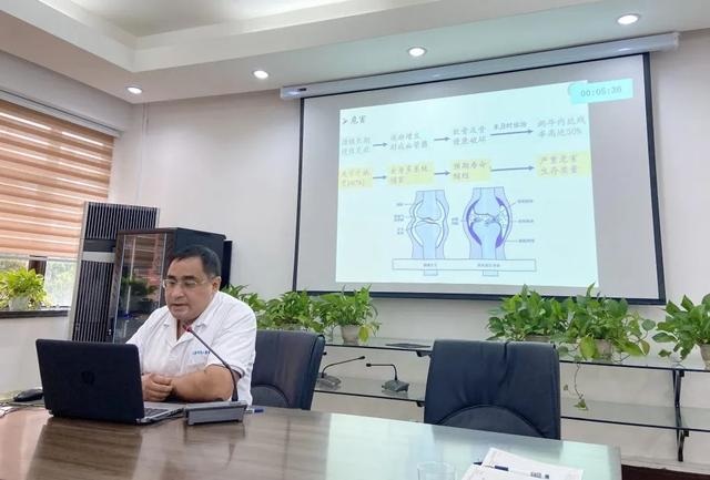 上海市第二康复医院召开「宝山区科技创新医学卫生项目」评审会