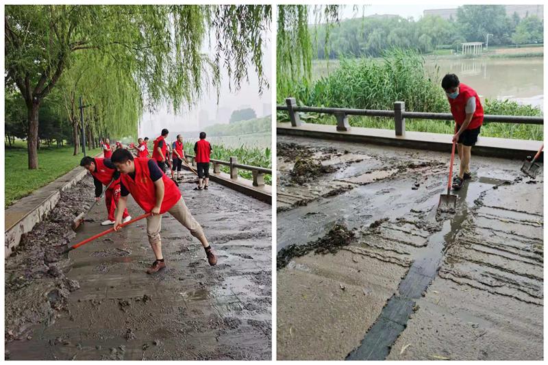 战洪图|风雨中温情接力的三院人