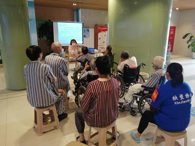 上海市第二康复医院开展脑卒中康复护理知识培训