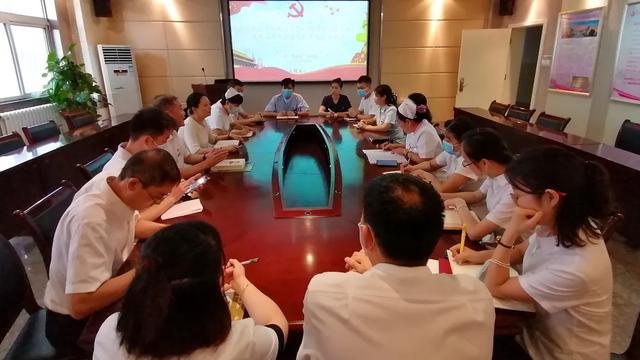 西安高新医院行政后勤支部开展《学习习近平谈治国理政》第三卷主题党日活动