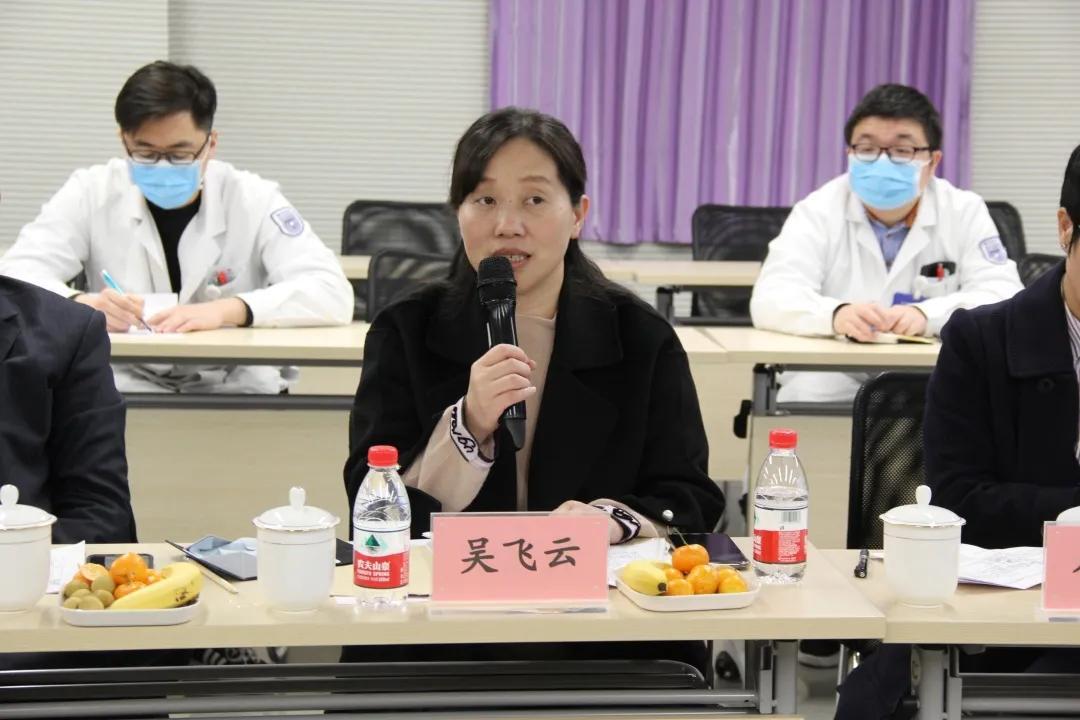 南京江北人民医院接受国家脑防委防治卒中中心建设现场指导评估