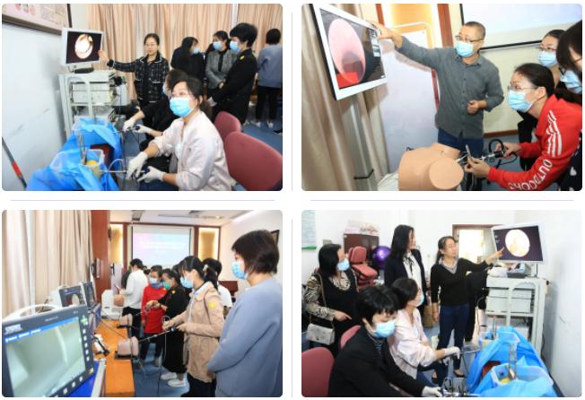第三届宫腔镜诊疗新进展学习班暨宫内疾病诊疗中心揭牌仪式成功举办