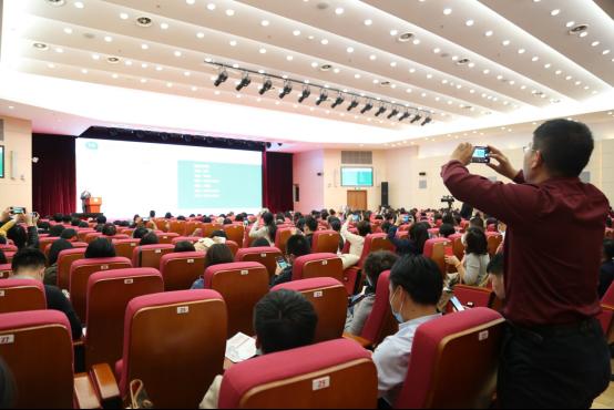 """房居高教授在 """"MSH万欣和高端医疗服务研讨会""""上做精彩演讲"""