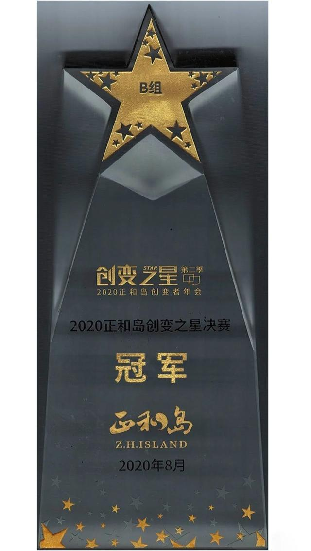 陆道培医疗集团荣获 2020 正和岛创变者年会创变之星决赛冠军
