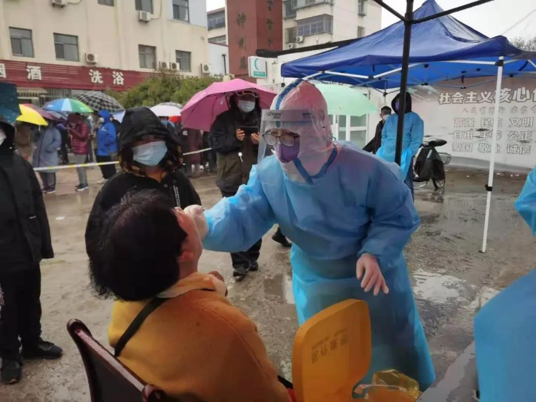 蓟州区人民医院 140 名医护人员紧急出征助力「滨城大筛」