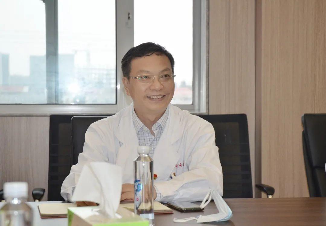 上海市同济医院党委召开第十批援疆干部欢送座谈会