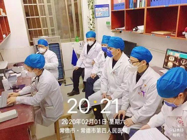 常德市第四人民医院:疫情防控阻击战中的感人瞬间