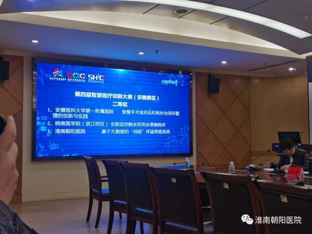 淮南朝阳医院勇夺第四届智慧医疗创新大赛决赛安徽区代表资格!