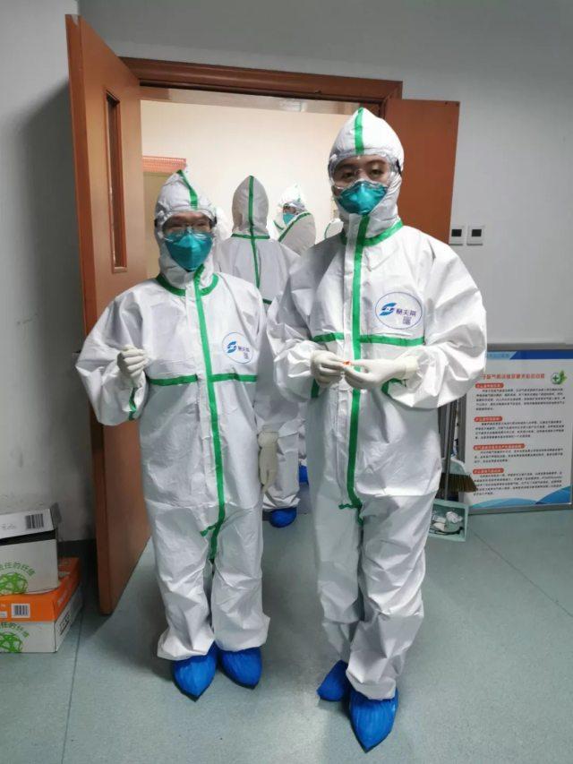 中山大学孙逸仙纪念医院战疫日记 | 第二天,我们正式奔赴病房一线