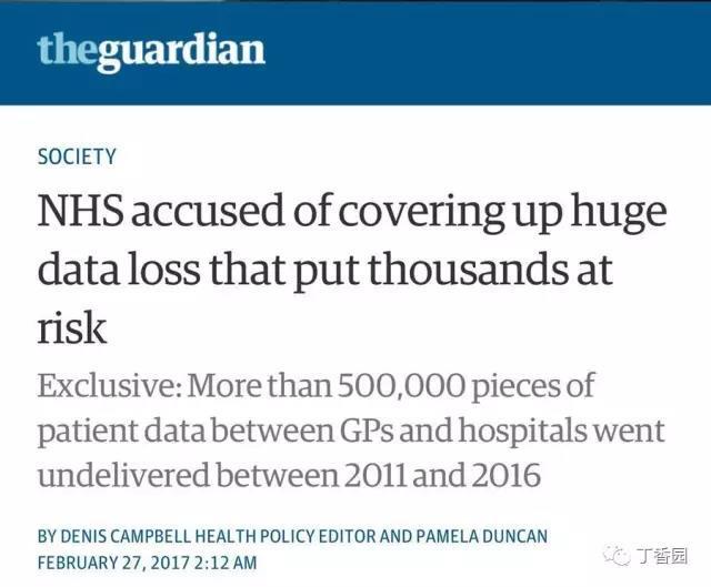 50 万份医疗数据丢失,我们该怎么办?