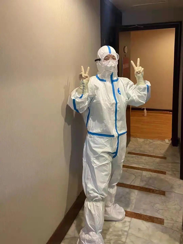 抗疫防控,我们在路上— 北京陆道培血液病医院支援隔离人员核酸采集工作