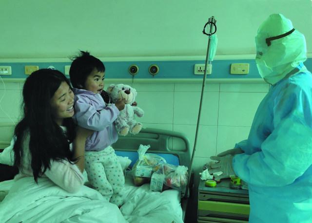 【隔离隔不断爱】盘江总医院为隔离病区患者送爱心