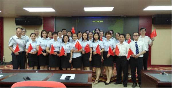 广西壮族自治区南溪山医院内科第一、第八党支部联合开展党建活动