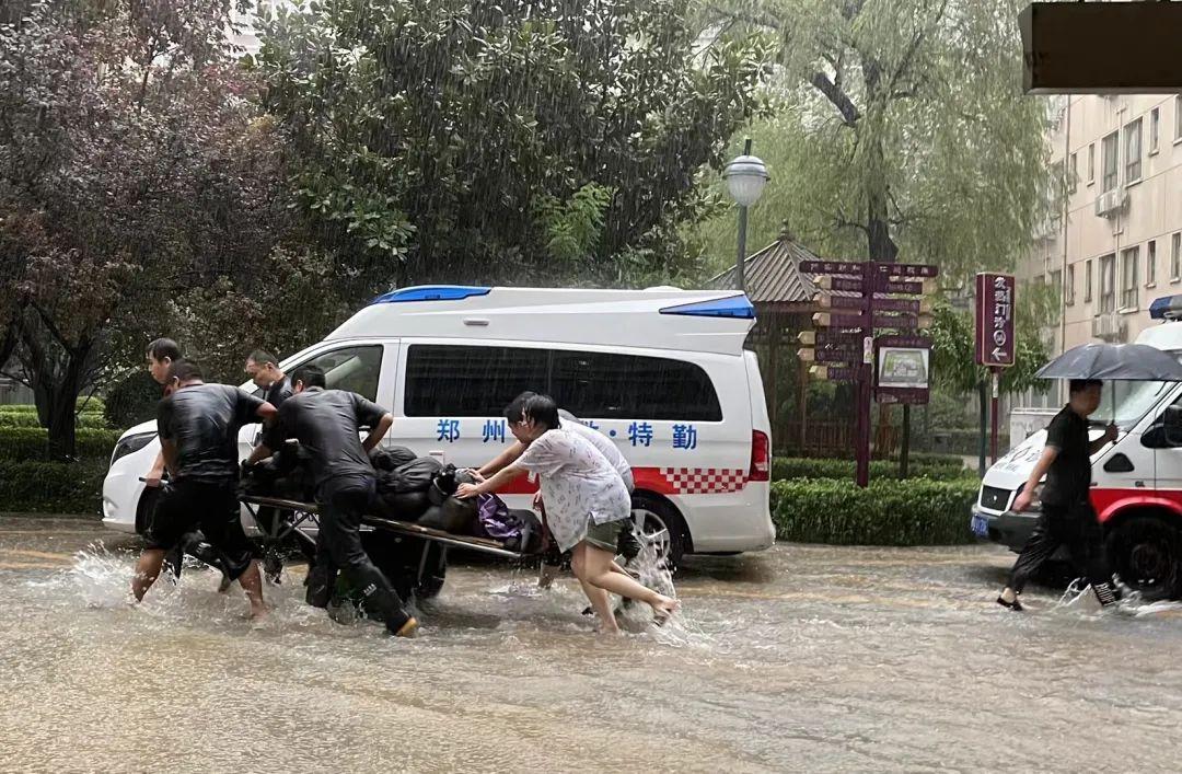 这场持续暴雨,再次彰显郑州人民医院速度