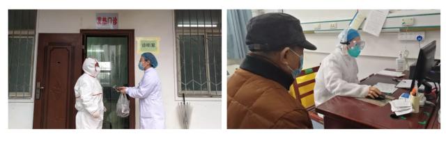 众志成城 打好新的「武汉保卫战」 抗击肺炎,武钢二医院广大员工庄严向院党委请战
