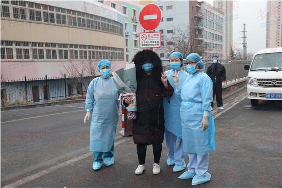 好消息!青岛唯一一例新冠肺炎孕妇治愈出院